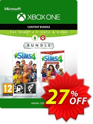 The Sims 4 - Cats and Dogs Bundle Xbox One discount coupon The Sims 4 - Cats and Dogs Bundle Xbox One Deal - The Sims 4 - Cats and Dogs Bundle Xbox One Exclusive offer for iVoicesoft
