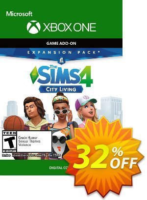 The Sims 4 - City Living Expansion Pack Xbox One discount coupon The Sims 4 - City Living Expansion Pack Xbox One Deal - The Sims 4 - City Living Expansion Pack Xbox One Exclusive offer for iVoicesoft