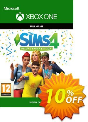 The Sims 4 - Deluxe Party Edition Xbox One discount coupon The Sims 4 - Deluxe Party Edition Xbox One Deal - The Sims 4 - Deluxe Party Edition Xbox One Exclusive offer for iVoicesoft