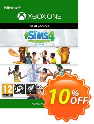 The Sims 4 - Deluxe Party Upgrade Xbox One Coupon discount The Sims 4 - Deluxe Party Upgrade Xbox One Deal - The Sims 4 - Deluxe Party Upgrade Xbox One Exclusive offer for iVoicesoft