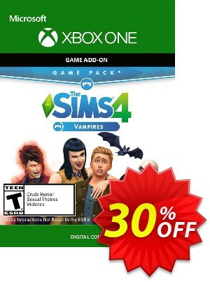 The Sims 4 - Vampires Game Pack Xbox One discount coupon The Sims 4 - Vampires Game Pack Xbox One Deal - The Sims 4 - Vampires Game Pack Xbox One Exclusive offer for iVoicesoft