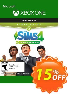 The Sims 4 - Vintage Glamour Stuff Xbox One discount coupon The Sims 4 - Vintage Glamour Stuff Xbox One Deal - The Sims 4 - Vintage Glamour Stuff Xbox One Exclusive offer for iVoicesoft