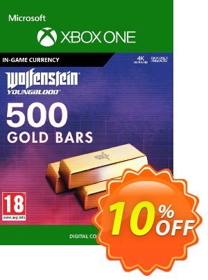 Wolfenstein: Youngblood - 500 Gold Bars Xbox One discount coupon Wolfenstein: Youngblood - 500 Gold Bars Xbox One Deal - Wolfenstein: Youngblood - 500 Gold Bars Xbox One Exclusive offer for iVoicesoft