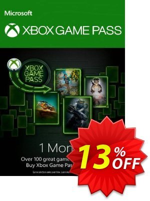1 Month Xbox Game Pass Xbox One discount coupon 1 Month Xbox Game Pass Xbox One Deal - 1 Month Xbox Game Pass Xbox One Exclusive offer for iVoicesoft