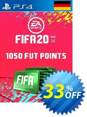 1050 FIFA 20 Ultimate Team Points PS4 (Germany) 프로모션 코드 1050 FIFA 20 Ultimate Team Points PS4 (Germany) Deal 프로모션: 1050 FIFA 20 Ultimate Team Points PS4 (Germany) Exclusive offer for iVoicesoft