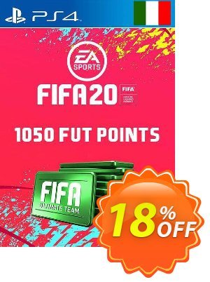 1050 FIFA 20 Ultimate Team Points PS4 (Italy) 프로모션 코드 1050 FIFA 20 Ultimate Team Points PS4 (Italy) Deal 프로모션: 1050 FIFA 20 Ultimate Team Points PS4 (Italy) Exclusive offer for iVoicesoft