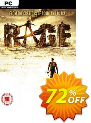 RAGE (PC) discount coupon RAGE (PC) Deal - RAGE (PC) Exclusive offer for iVoicesoft