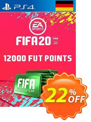 12000 FIFA 20 Ultimate Team Points PS4 (Germany) discount coupon 12000 FIFA 20 Ultimate Team Points PS4 (Germany) Deal - 12000 FIFA 20 Ultimate Team Points PS4 (Germany) Exclusive offer for iVoicesoft