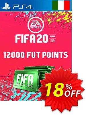 12000 FIFA 20 Ultimate Team Points PS4 (Italy) 프로모션 코드 12000 FIFA 20 Ultimate Team Points PS4 (Italy) Deal 프로모션: 12000 FIFA 20 Ultimate Team Points PS4 (Italy) Exclusive offer for iVoicesoft
