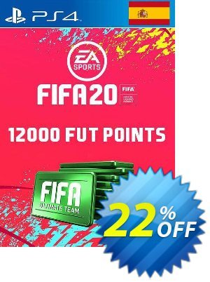 12000 FIFA 20 Ultimate Team Points PS4 (Spain) discount coupon 12000 FIFA 20 Ultimate Team Points PS4 (Spain) Deal - 12000 FIFA 20 Ultimate Team Points PS4 (Spain) Exclusive offer for iVoicesoft