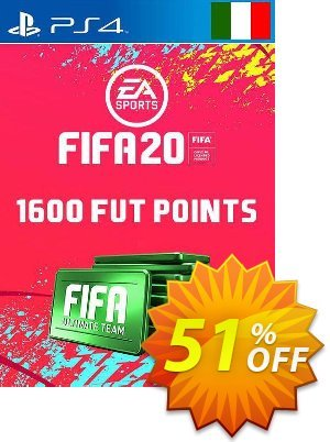 1600 FIFA 20 Ultimate Team Points PS4 (Italy) discount coupon 1600 FIFA 20 Ultimate Team Points PS4 (Italy) Deal - 1600 FIFA 20 Ultimate Team Points PS4 (Italy) Exclusive offer for iVoicesoft