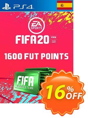 1600 FIFA 20 Ultimate Team Points PS4 (Spain) Coupon discount 1600 FIFA 20 Ultimate Team Points PS4 (Spain) Deal. Promotion: 1600 FIFA 20 Ultimate Team Points PS4 (Spain) Exclusive offer for iVoicesoft