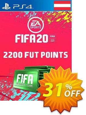 2200 FIFA 20 Ultimate Team Points PS4 (Austria) discount coupon 2200 FIFA 20 Ultimate Team Points PS4 (Austria) Deal - 2200 FIFA 20 Ultimate Team Points PS4 (Austria) Exclusive offer for iVoicesoft