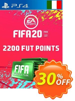 2200 FIFA 20 Ultimate Team Points PS4 (Italy) discount coupon 2200 FIFA 20 Ultimate Team Points PS4 (Italy) Deal - 2200 FIFA 20 Ultimate Team Points PS4 (Italy) Exclusive offer for iVoicesoft