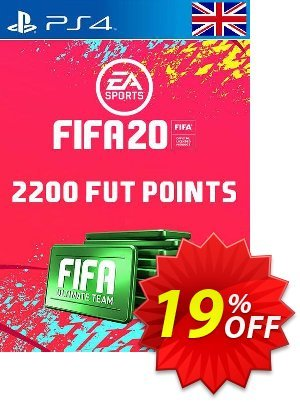 2200 FIFA 20 Ultimate Team Points PS4 PSN Code - UK account discount coupon 2200 FIFA 20 Ultimate Team Points PS4 PSN Code - UK account Deal - 2200 FIFA 20 Ultimate Team Points PS4 PSN Code - UK account Exclusive offer for iVoicesoft