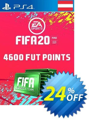 4600 FIFA 20 Ultimate Team Points PS4 (Austria) discount coupon 4600 FIFA 20 Ultimate Team Points PS4 (Austria) Deal - 4600 FIFA 20 Ultimate Team Points PS4 (Austria) Exclusive offer for iVoicesoft