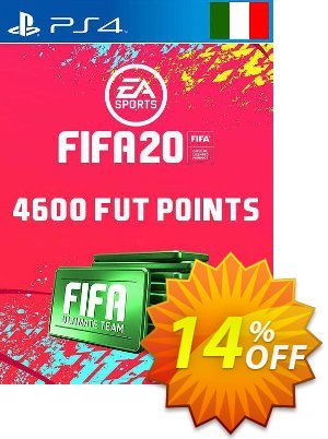 4600 FIFA 20 Ultimate Team Points PS4 (Italy) Coupon discount 4600 FIFA 20 Ultimate Team Points PS4 (Italy) Deal. Promotion: 4600 FIFA 20 Ultimate Team Points PS4 (Italy) Exclusive offer for iVoicesoft