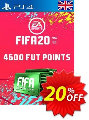 4600 FIFA 20 Ultimate Team Points PS4 PSN Code - UK account discount coupon 4600 FIFA 20 Ultimate Team Points PS4 PSN Code - UK account Deal - 4600 FIFA 20 Ultimate Team Points PS4 PSN Code - UK account Exclusive offer for iVoicesoft