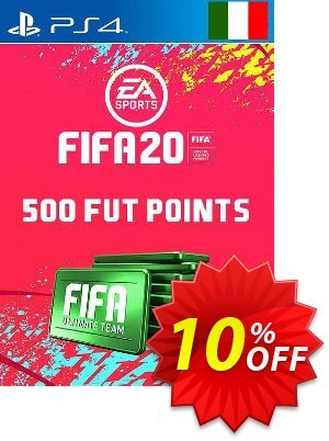 500 FIFA 20 Ultimate Team Points PS4 (Italy) 프로모션 코드 500 FIFA 20 Ultimate Team Points PS4 (Italy) Deal 프로모션: 500 FIFA 20 Ultimate Team Points PS4 (Italy) Exclusive offer for iVoicesoft