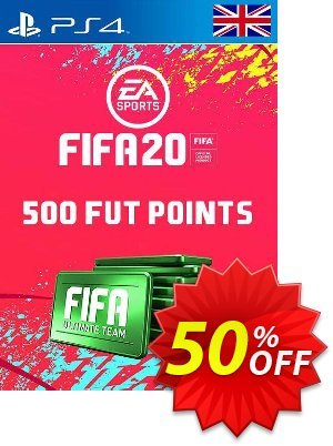 500 FIFA 20 Ultimate Team Points PS4 PSN Code - UK account discount coupon 500 FIFA 20 Ultimate Team Points PS4 PSN Code - UK account Deal - 500 FIFA 20 Ultimate Team Points PS4 PSN Code - UK account Exclusive offer for iVoicesoft