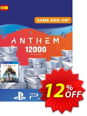 Anthem 12000 Shards PS4 (Spain) discount coupon Anthem 12000 Shards PS4 (Spain) Deal - Anthem 12000 Shards PS4 (Spain) Exclusive offer for iVoicesoft