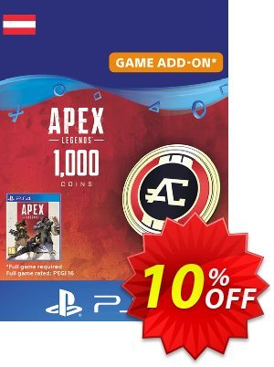 Apex Legends 1000 Coins PS4 (Austria) discount coupon Apex Legends 1000 Coins PS4 (Austria) Deal - Apex Legends 1000 Coins PS4 (Austria) Exclusive offer for iVoicesoft