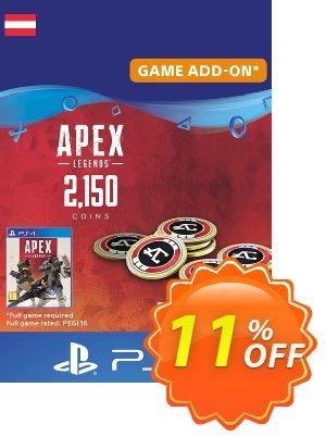 Apex Legends 2150 Coins PS4 (Austria) 優惠券,折扣碼 Apex Legends 2150 Coins PS4 (Austria) Deal,促銷代碼: Apex Legends 2150 Coins PS4 (Austria) Exclusive offer for iVoicesoft