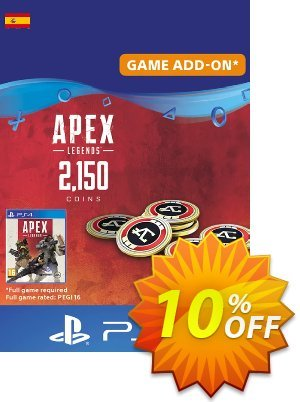 Apex Legends 2150 Coins PS4 (Spain) 優惠券,折扣碼 Apex Legends 2150 Coins PS4 (Spain) Deal,促銷代碼: Apex Legends 2150 Coins PS4 (Spain) Exclusive offer for iVoicesoft