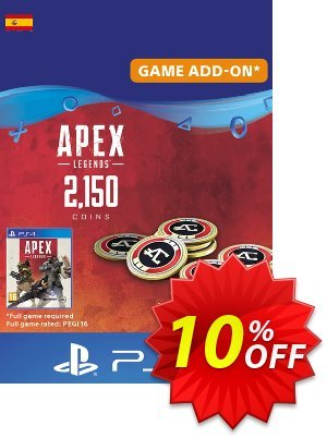Apex Legends 2150 Coins PS4 (Spain) discount coupon Apex Legends 2150 Coins PS4 (Spain) Deal - Apex Legends 2150 Coins PS4 (Spain) Exclusive offer for iVoicesoft