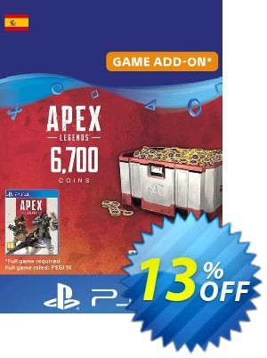 Apex Legends 6700 Coins PS4 (Spain) discount coupon Apex Legends 6700 Coins PS4 (Spain) Deal - Apex Legends 6700 Coins PS4 (Spain) Exclusive offer for iVoicesoft