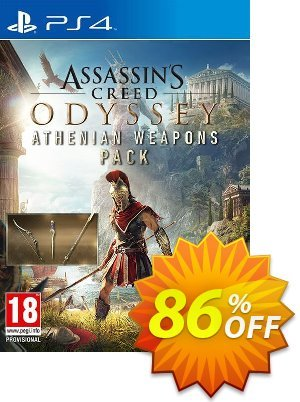 Assassins Creed Odyssey Athenian Weapons Pack DLC PS4 discount coupon Assassins Creed Odyssey Athenian Weapons Pack DLC PS4 Deal - Assassins Creed Odyssey Athenian Weapons Pack DLC PS4 Exclusive offer for iVoicesoft