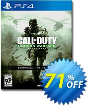 Call of Duty (COD) Modern Warfare Remastered PS4 - Digital Code Coupon, discount Call of Duty (COD) Modern Warfare Remastered PS4 - Digital Code Deal. Promotion: Call of Duty (COD) Modern Warfare Remastered PS4 - Digital Code Exclusive offer for iVoicesoft
