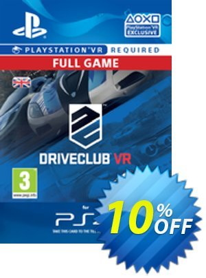 DriveClub VR PS4 discount coupon DriveClub VR PS4 Deal - DriveClub VR PS4 Exclusive offer for iVoicesoft