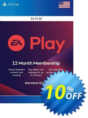 EA Access 12 Month PS4 (US) Coupon discount EA Access 12 Month PS4 (US) Deal. Promotion: EA Access 12 Month PS4 (US) Exclusive offer for iVoicesoft