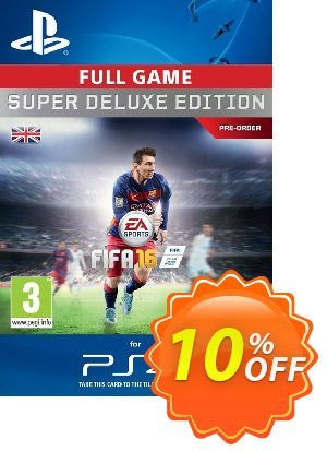 Fifa 16 Super Deluxe PS4 - Digital Code discount coupon Fifa 16 Super Deluxe PS4 - Digital Code Deal - Fifa 16 Super Deluxe PS4 - Digital Code Exclusive offer for iVoicesoft