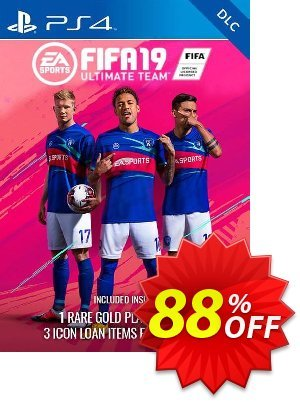 Fifa 19 Ultimate Team Rare Players Pack Bundle DLC PS4 (EU) promo
