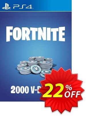 Fortnite - 2000 V-Bucks PS4 (US) Coupon, discount Fortnite - 2000 V-Bucks PS4 (US) Deal. Promotion: Fortnite - 2000 V-Bucks PS4 (US) Exclusive offer for iVoicesoft