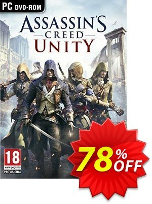 Assassin's Creed Unity PC 優惠券,折扣碼 Assassin's Creed Unity PC Deal,促銷代碼: Assassin's Creed Unity PC Exclusive offer for iVoicesoft