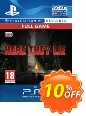 Here They Lie VR PS4 Coupon discount Here They Lie VR PS4 Deal. Promotion: Here They Lie VR PS4 Exclusive offer for iVoicesoft