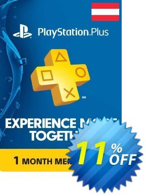 Playstation Plus - 1 Month Subscription (Austria) discount coupon Playstation Plus - 1 Month Subscription (Austria) Deal - Playstation Plus - 1 Month Subscription (Austria) Exclusive offer for iVoicesoft