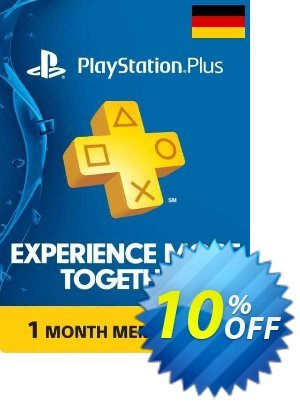 PlayStation Plus - 1 Month Subscription (Germany) discount coupon PlayStation Plus - 1 Month Subscription (Germany) Deal - PlayStation Plus - 1 Month Subscription (Germany) Exclusive offer for iVoicesoft