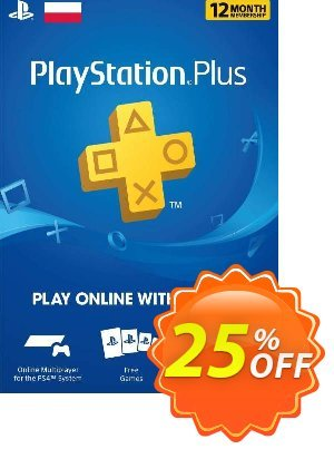 PlayStation Plus - 12 Month Subscription (Poland) discount coupon PlayStation Plus - 12 Month Subscription (Poland) Deal - PlayStation Plus - 12 Month Subscription (Poland) Exclusive offer for iVoicesoft