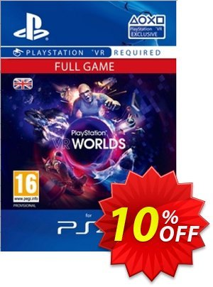 PlayStation VR Worlds PS4 Coupon discount PlayStation VR Worlds PS4 Deal. Promotion: PlayStation VR Worlds PS4 Exclusive offer for iVoicesoft