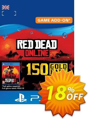 Red Dead Online 150 Gold Bars PS4 (UK) discount coupon Red Dead Online 150 Gold Bars PS4 (UK) Deal - Red Dead Online 150 Gold Bars PS4 (UK) Exclusive offer for iVoicesoft