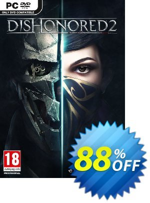 Dishonored 2 PC Coupon, discount Dishonored 2 PC Deal. Promotion: Dishonored 2 PC Exclusive offer for iVoicesoft