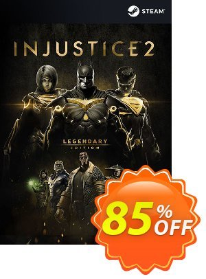 Injustice 2 Legendary Edition PC 優惠券,折扣碼 Injustice 2 Legendary Edition PC Deal,促銷代碼: Injustice 2 Legendary Edition PC Exclusive offer for iVoicesoft