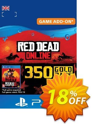 Red Dead Online: 350 Gold Bars PS4 (UK) discount coupon Red Dead Online: 350 Gold Bars PS4 (UK) Deal - Red Dead Online: 350 Gold Bars PS4 (UK) Exclusive offer for iVoicesoft
