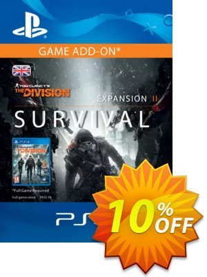Tom Clancy's The Division Survival PS4 (UK) discount coupon Tom Clancy's The Division Survival PS4 (UK) Deal - Tom Clancy's The Division Survival PS4 (UK) Exclusive offer for iVoicesoft