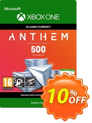 Anthem 500 Shards Pack Xbox One discount coupon Anthem 500 Shards Pack Xbox One Deal - Anthem 500 Shards Pack Xbox One Exclusive offer for iVoicesoft