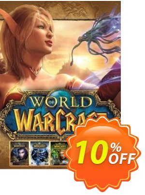 World of Warcraft (WoW) PC 프로모션 코드 World of Warcraft (WoW) PC Deal 프로모션: World of Warcraft (WoW) PC Exclusive offer for iVoicesoft